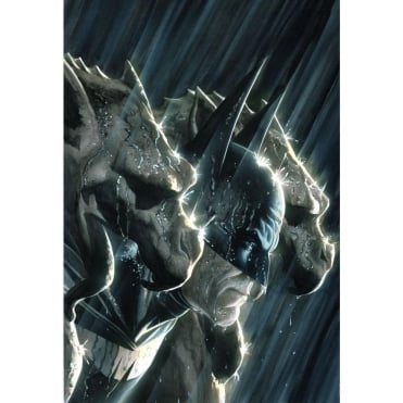 Batman and the Gargoyles (Canvas)