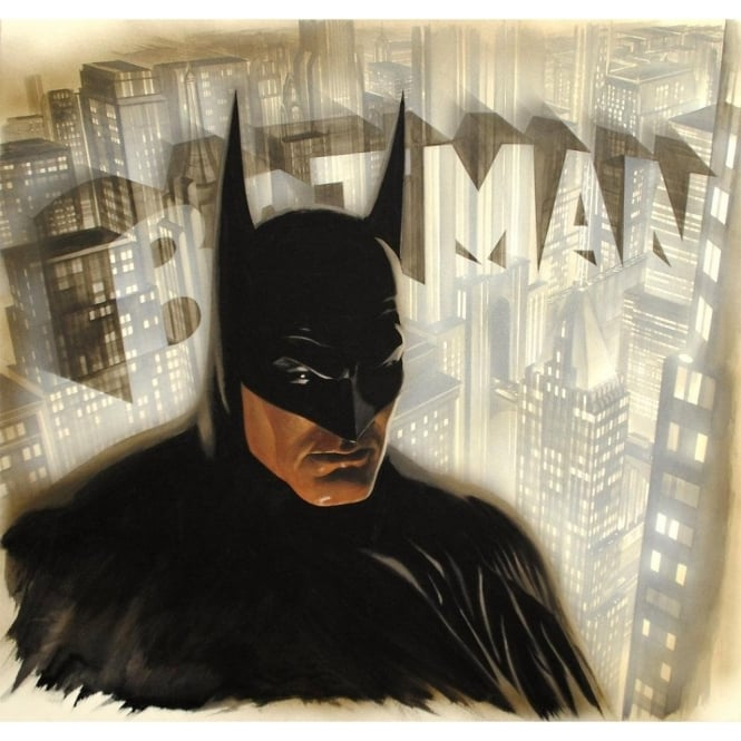 Batman the Legend (Canvas)