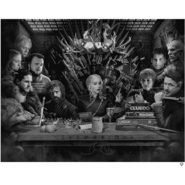 Board - Game of Thrones (B/W)