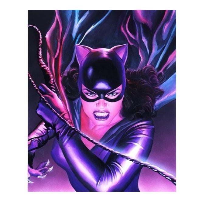 Catwoman Mythology (canvas)