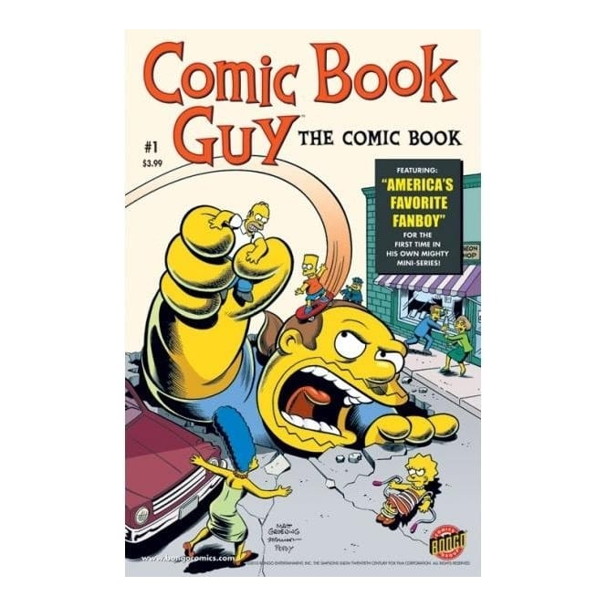 Comic Book Guy #1