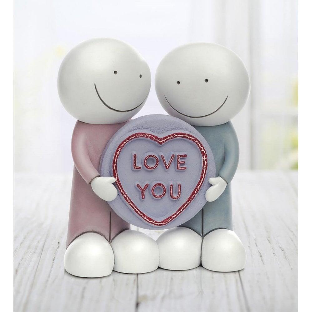 doug hyde love you sculpture best mate  super cutie
