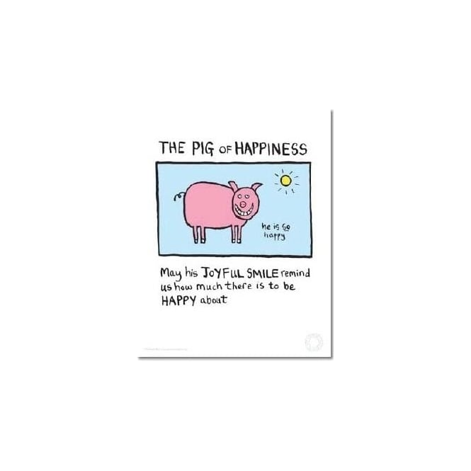 Edward Monkton Pig Of Happiness