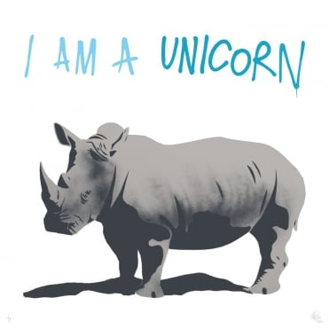 I am a Unicorn *HOLOGRAPHIC SPARKLE LTD EDITION*