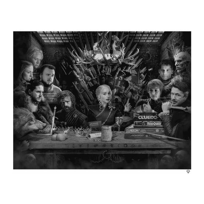 Jj Adams Board Game Of Thrones Bw Artists From Generation