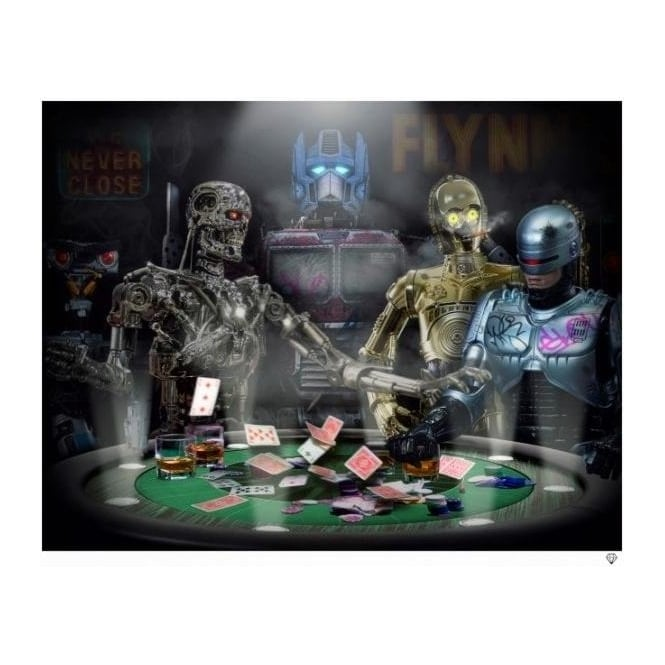 JJ Adams - Droids Playing Poker