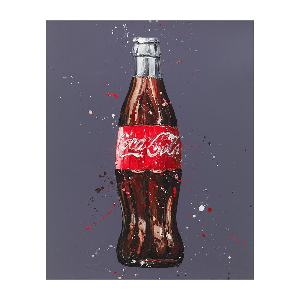 Catch The Wave (Coke Bottle - canvas)