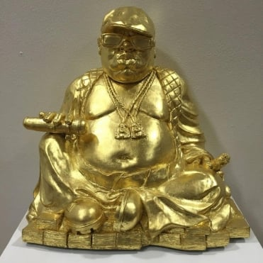 Biggie/Buddha Smalls Sculpture