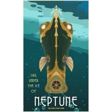 Space Travel - Neptune