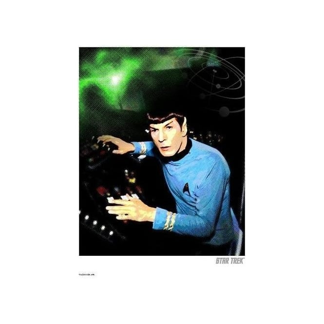 Spock at Console