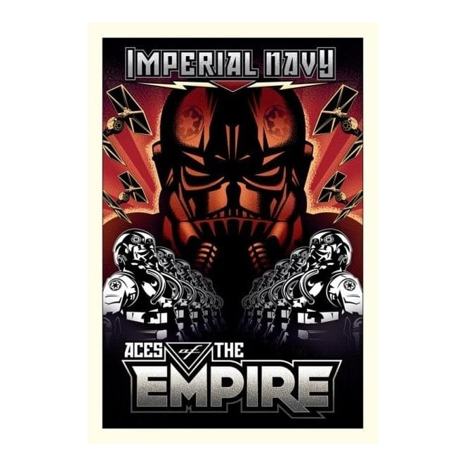 Star Wars - Aces of the Empire (small canvas)