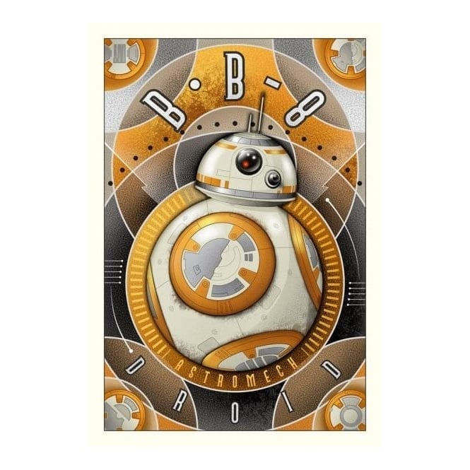 Star Wars - BB-8 Astromech Droid (large canvas)