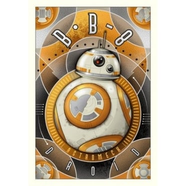 BB-8 Astromech Droid (small canvas)