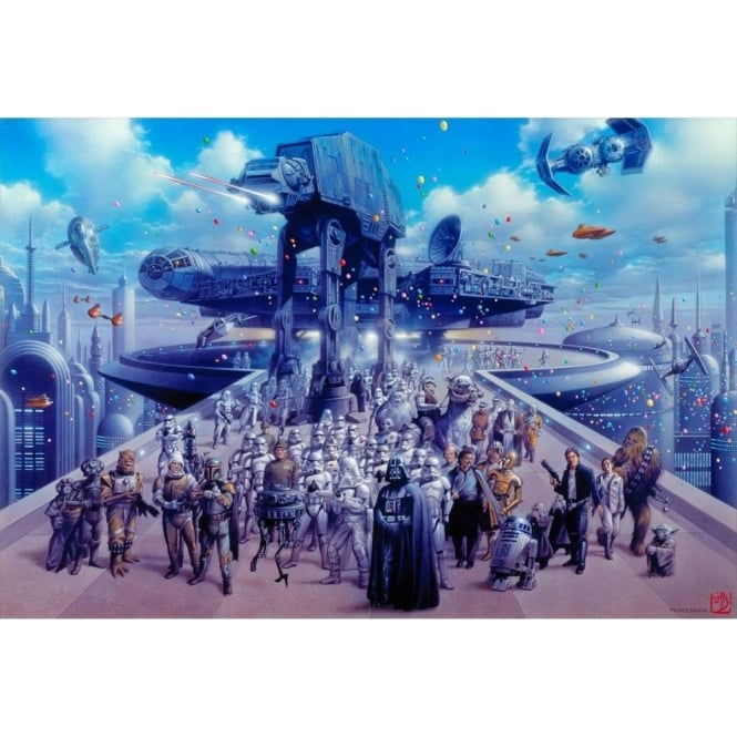 Star Wars - Cloud City Celebration (small canvas)