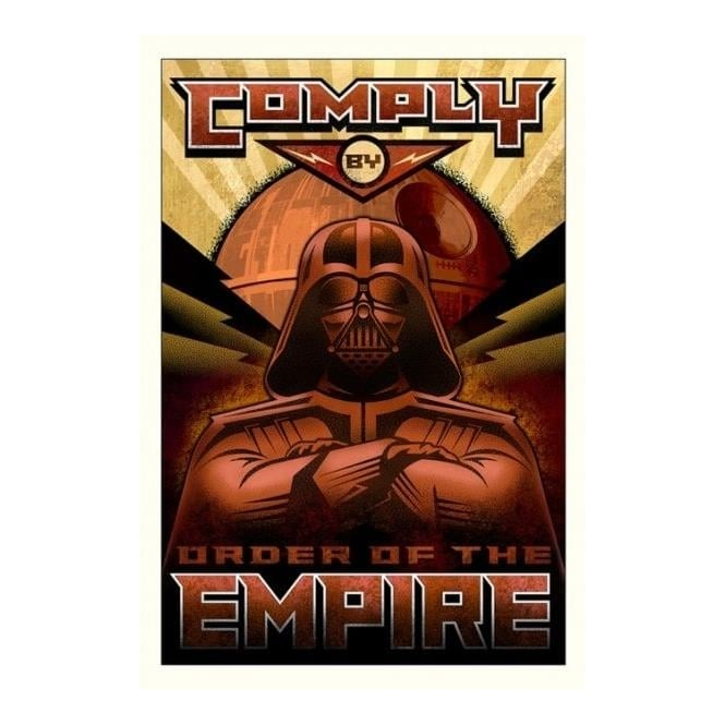 Star Wars - Comply (canvas)