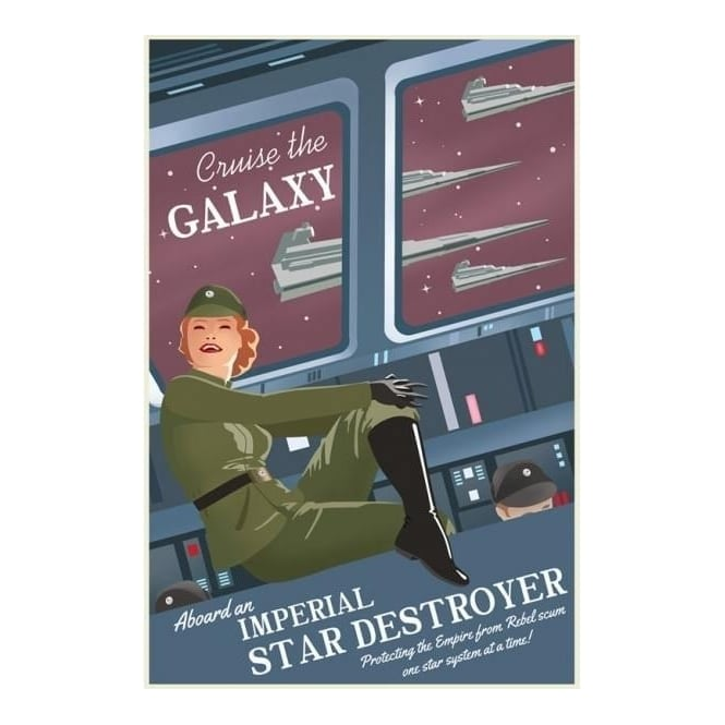 Star Wars - Cruise the Galaxy (canvas)