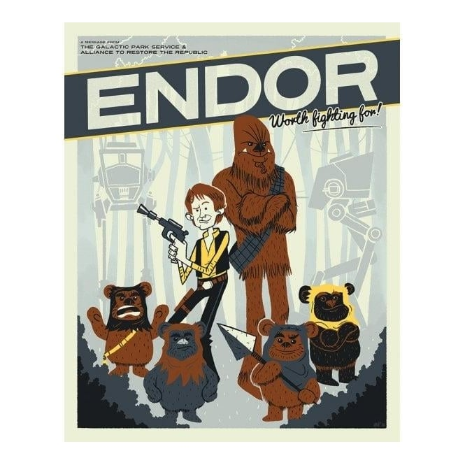 Star Wars - Endor: Worth Fighting For! by Ian Glaubinger