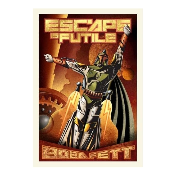 Star Wars - Escape is Futile (large canvas)