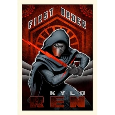 First Order Ren (small canvas)