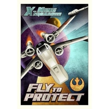 Fly to Protect (small canvas)