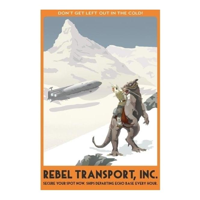 Star Wars - Hoth Rebel Transport (canvas)