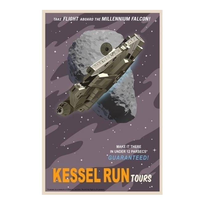 Star Wars - Kessel Run Tours (canvas) - Studio Art from Generation ...