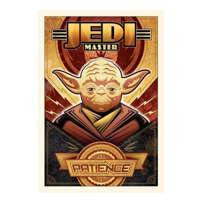 Star Wars - Patience (small canvas)