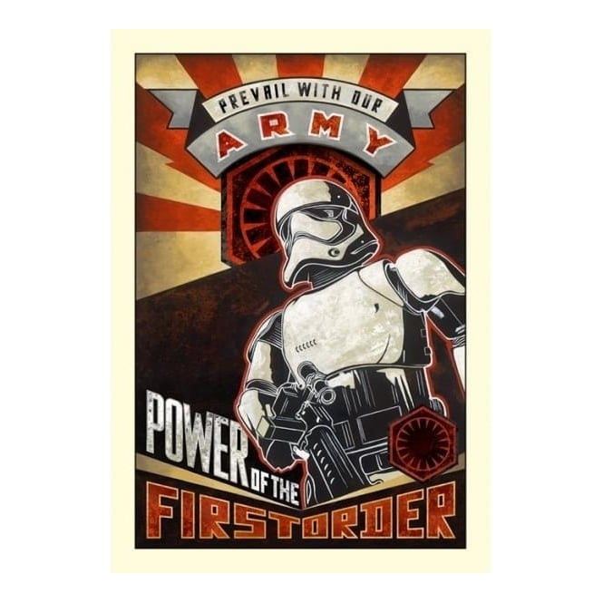 Star Wars - Power of the First Order (canvas)