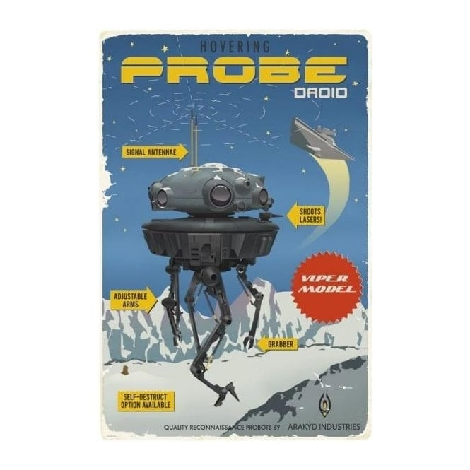 Star Wars - Probe Droid by Steve Thomas