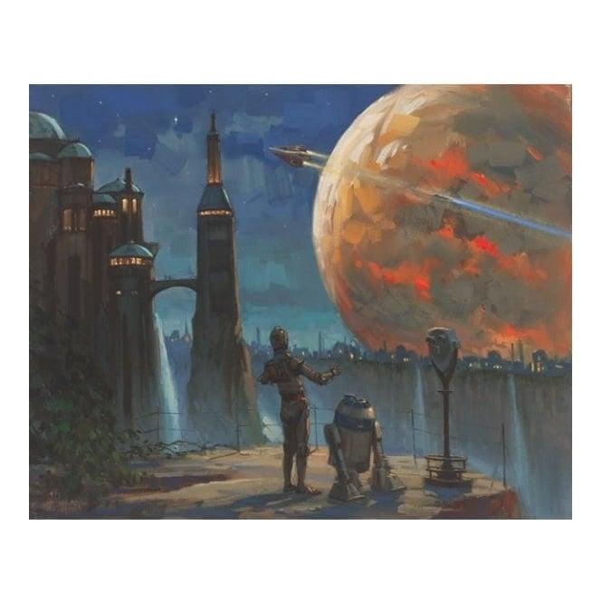 Star Wars - The Droids' Vista (canvas)