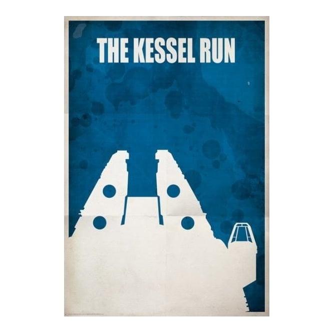 Star Wars - The Kessel Run - Studio Art from Generation Gallery UK