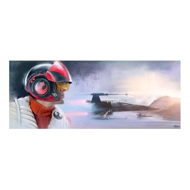 Star Wars - The Pilot (canvas)