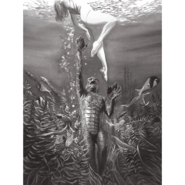Universal Monsters: Creature from the Black Lagoon (Alex Ross)