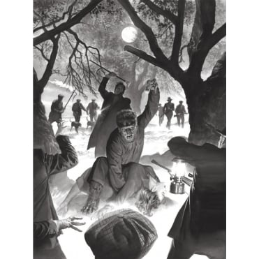 Universal Monsters: The Wolfman (Alex Ross)