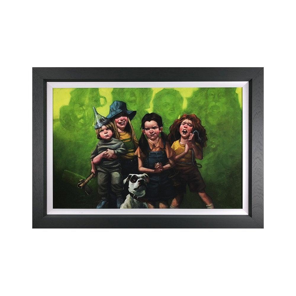 Craig Davison Were Off To See The Wizard Wizard Of Oz Canvas